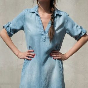 NWOT Anthro Cloth & Stone A-Line Shirt Dress Sz S